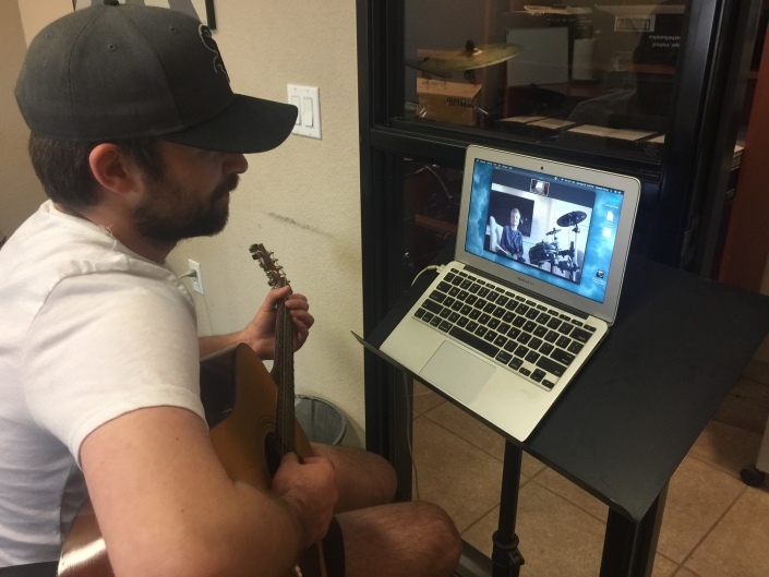 Online guitar lessons in Phoenix