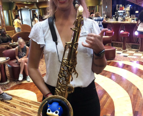 Saxophone and Sonic