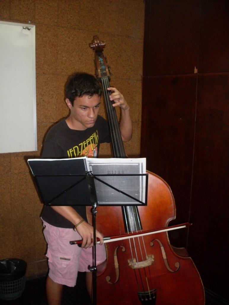 Upright bass teacher Scottsdale
